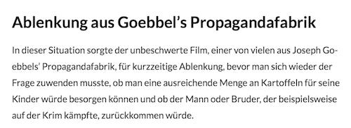 Goebbel's