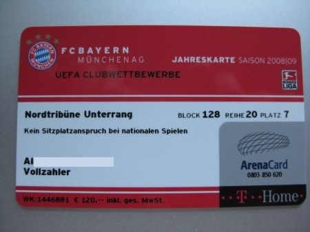 Dauerkarte Bayern München Preis