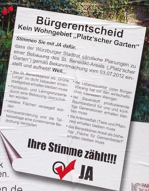 Platzscher Garten Plakat