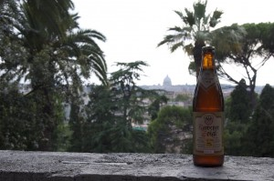 Panoramablick von der Villa Borghese