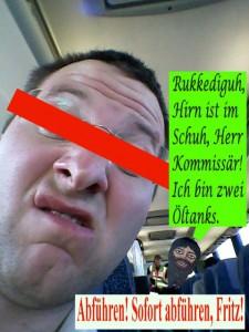 Frank Frei und Hyacintho im Überlandbus 3