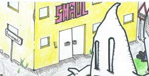 Das von uns erträumte, mehrstöckige SMAUL-Redaktionsbüro.