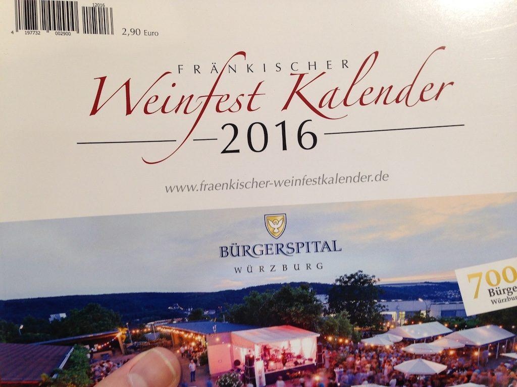 Weinfestkalender